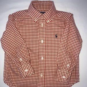 Ralph Lauren 2T Long-Sleeve Plaid Shirt